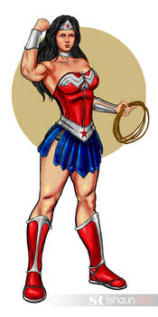 Ultimate Wonder Woman Redesign