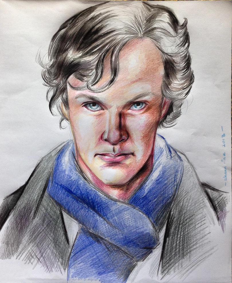 Sherlock by shaunriaz