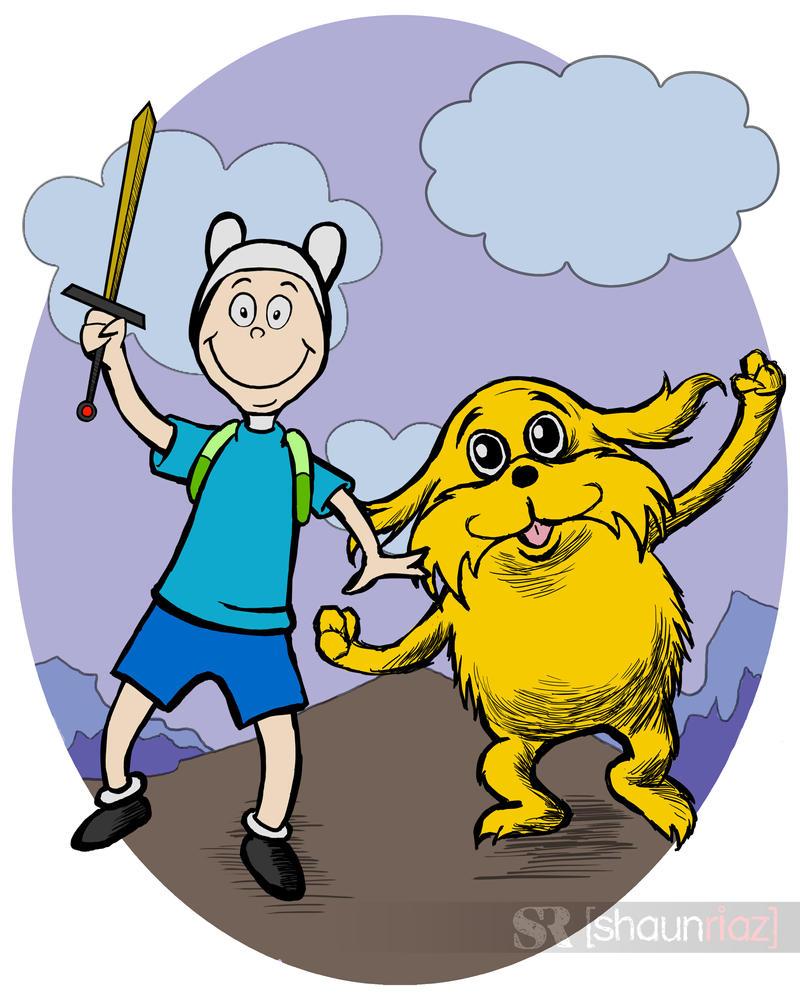 Dr Seuss Adventure Time by shaunriaz