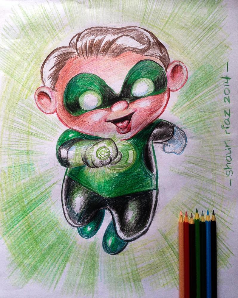 Green Lantern by shaunriaz