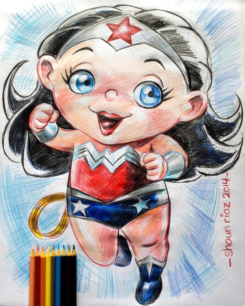 Wonder Woman by shaunriaz