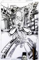 Spider-Man vs Dr Octopus by shaunriaz