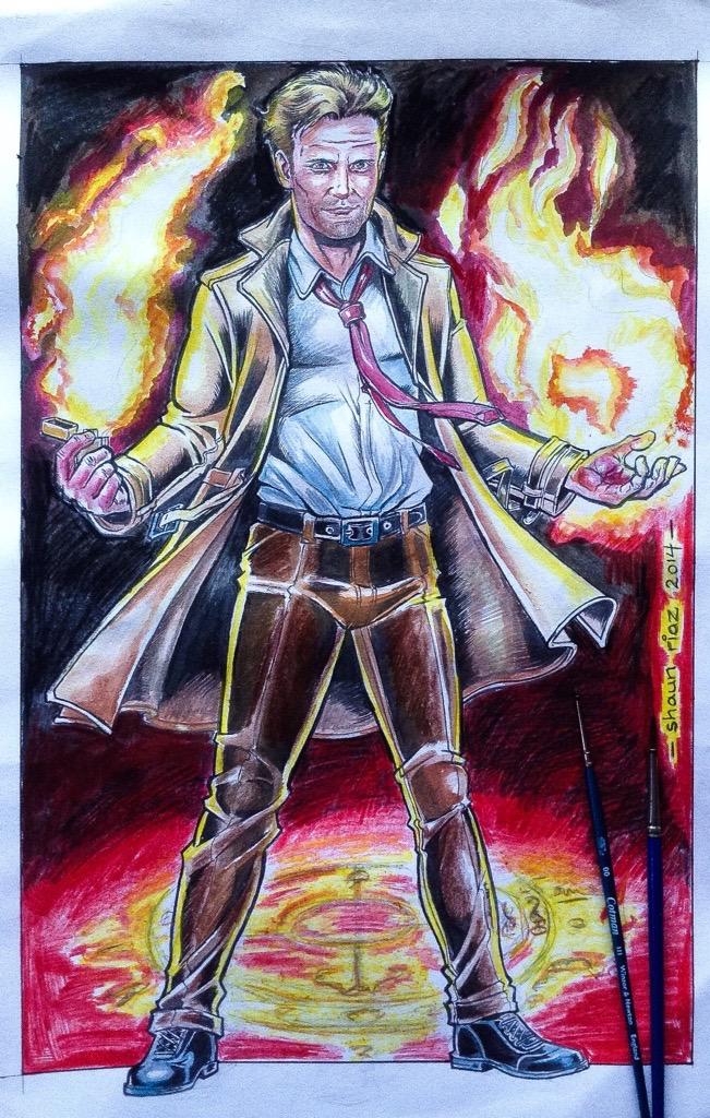 Constantine. by shaunriaz