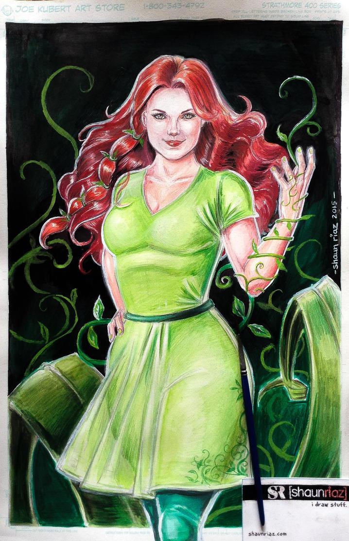 Poison Ivy by shaunriaz