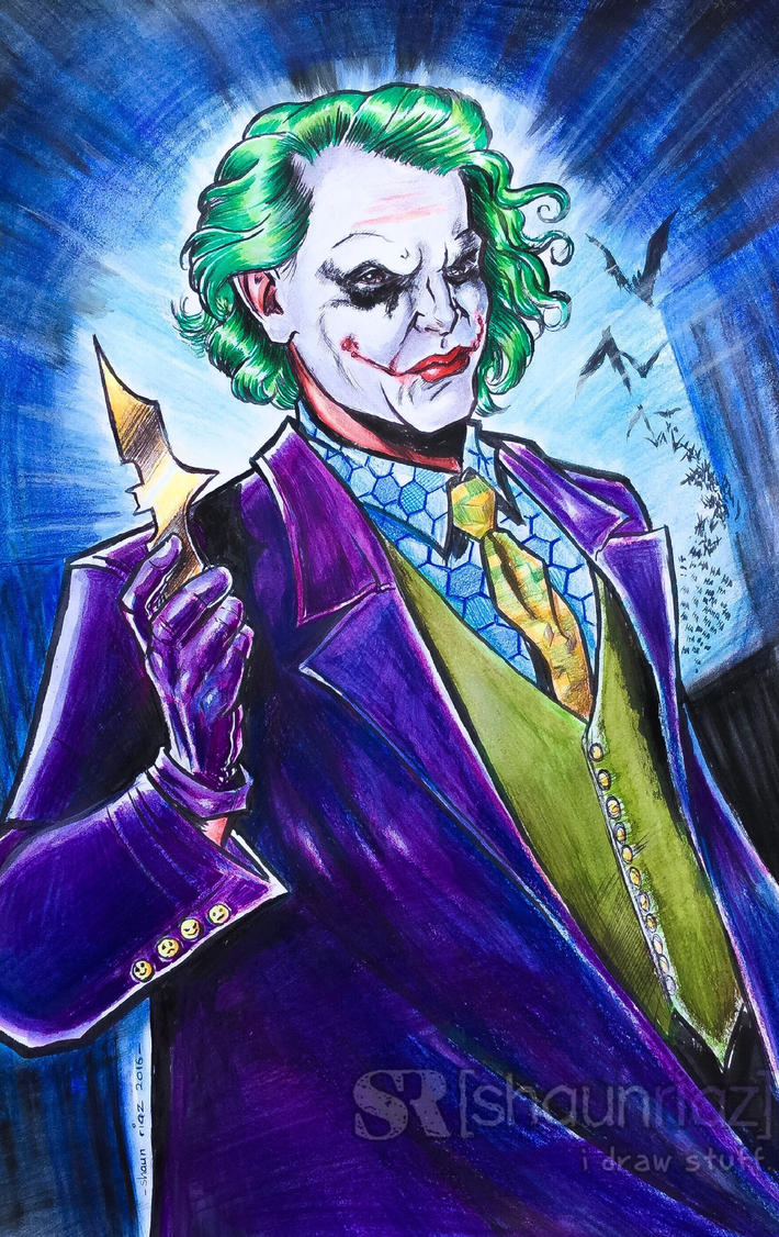Joker by shaunriaz