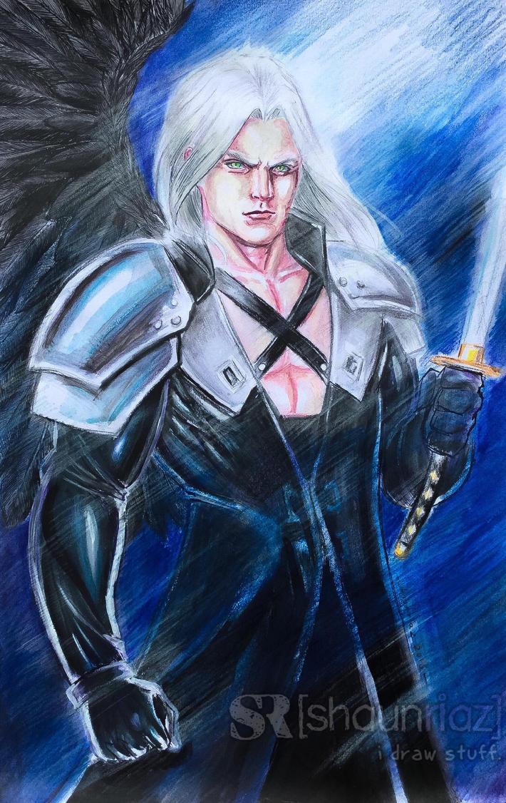 Sephiroth by shaunriaz