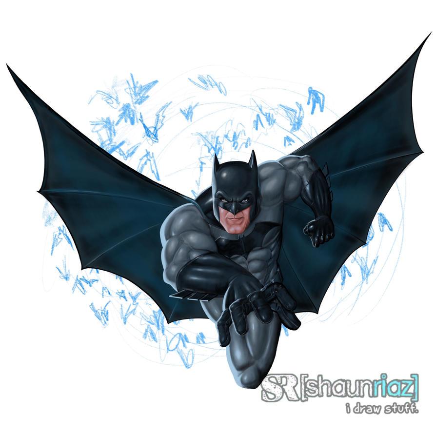 Batman  by shaunriaz
