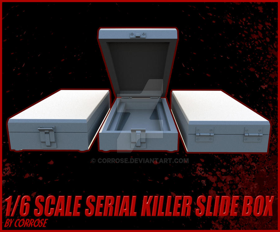 3D Model for Miami Serial Killer Slide Box by Corrose on DeviantArt