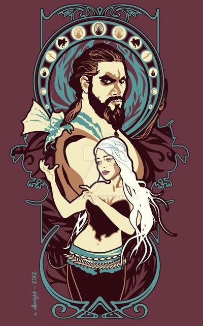Dothraki Nouveau (Game of Thrones) by Corrose