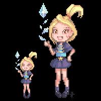 Random magic girl by Mithrall