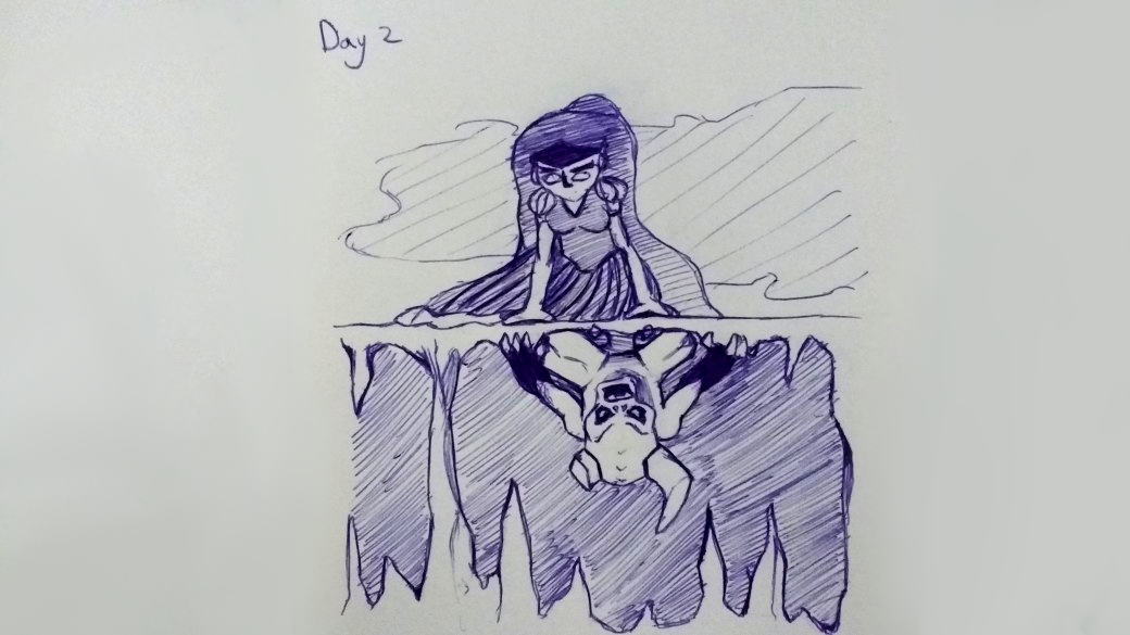 InkTober 2017 Day 2 Devided by pokesprietie