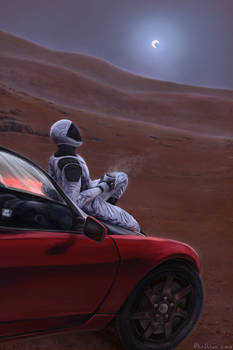 Red Car for the Red Planet