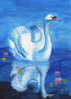 Swan by Puolikuu