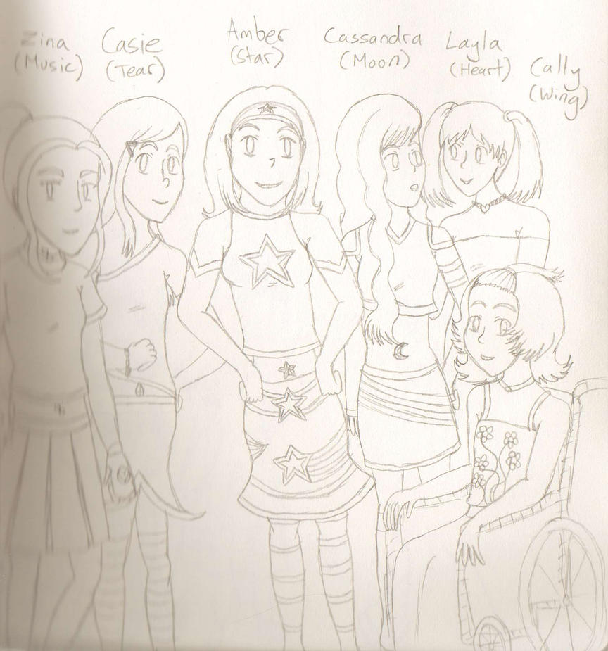Magical Girl OCs by MajesticIllusion