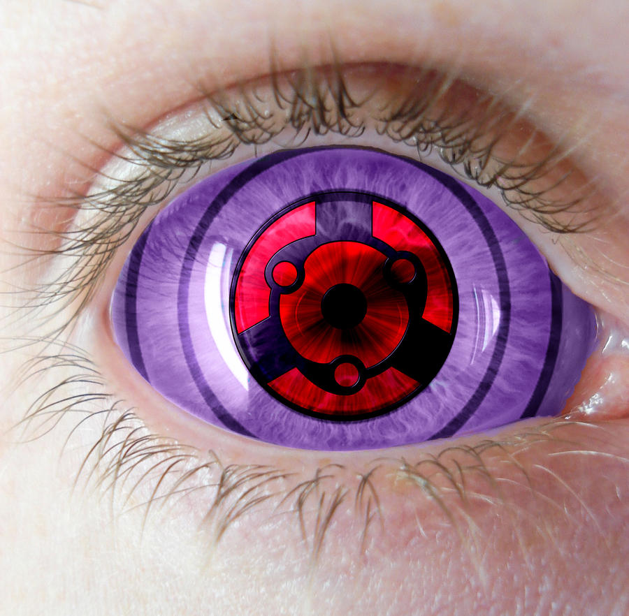 Rinnegan and Madara's Eternal Sharingan by Strider3750 on ...