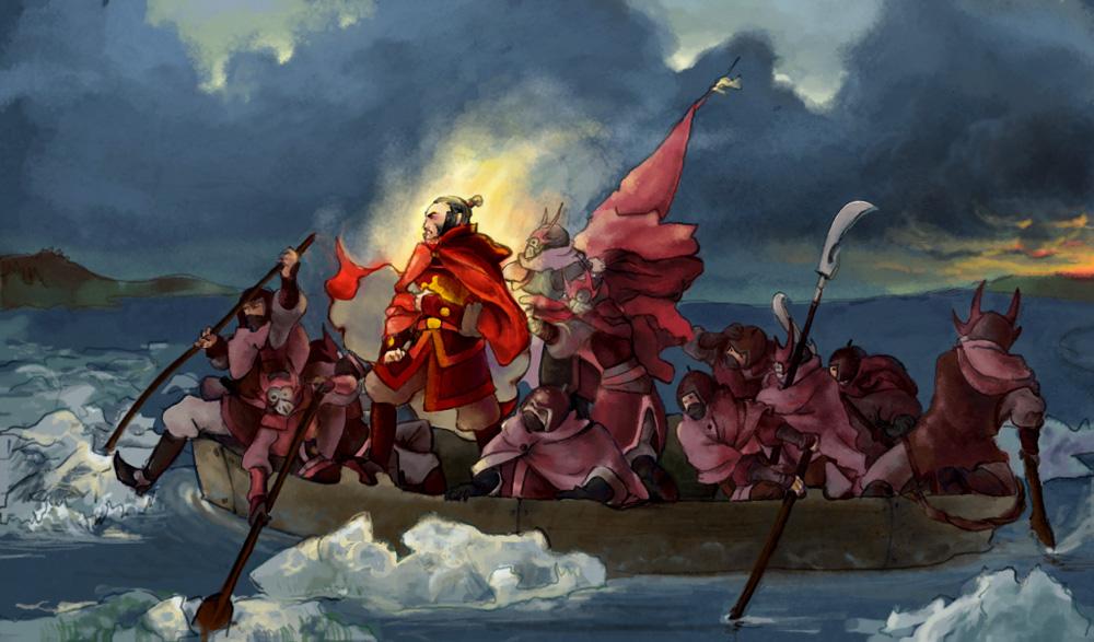 AtlA: Zhao's Winter Campaign by alciha