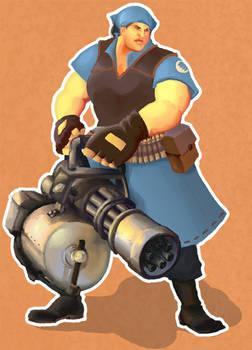 TF2: Heavy Weapons Girl