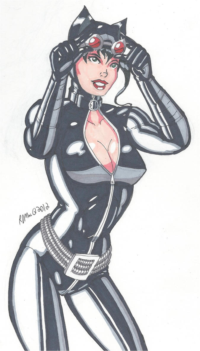 Bishouju Catwoman by RobertMacQuarrie1