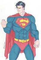 JLA- The Man of Steel by RobertMacQuarrie1