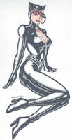 Catwoman in Recline