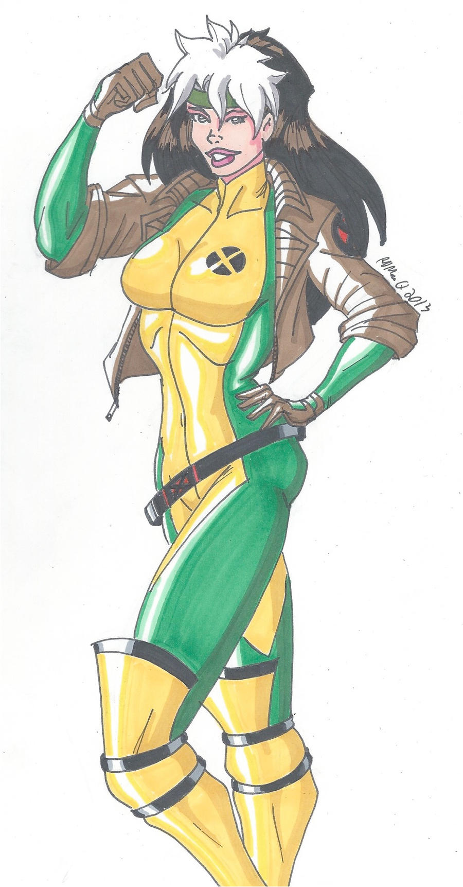 90's Rogue by RobertMacQuarrie1