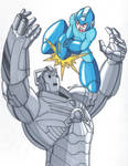 Mega Man vs Cyberman