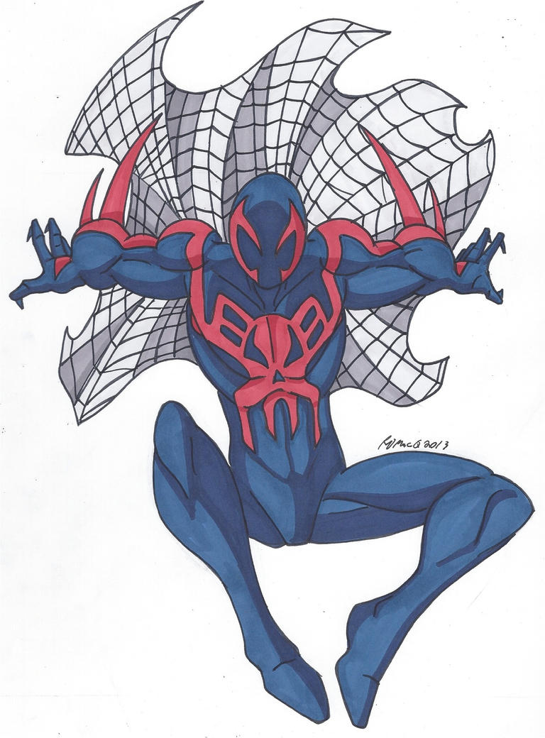 Spidey Series SpiderMan 2099 by RobertMacQuarrie1 on DeviantArt