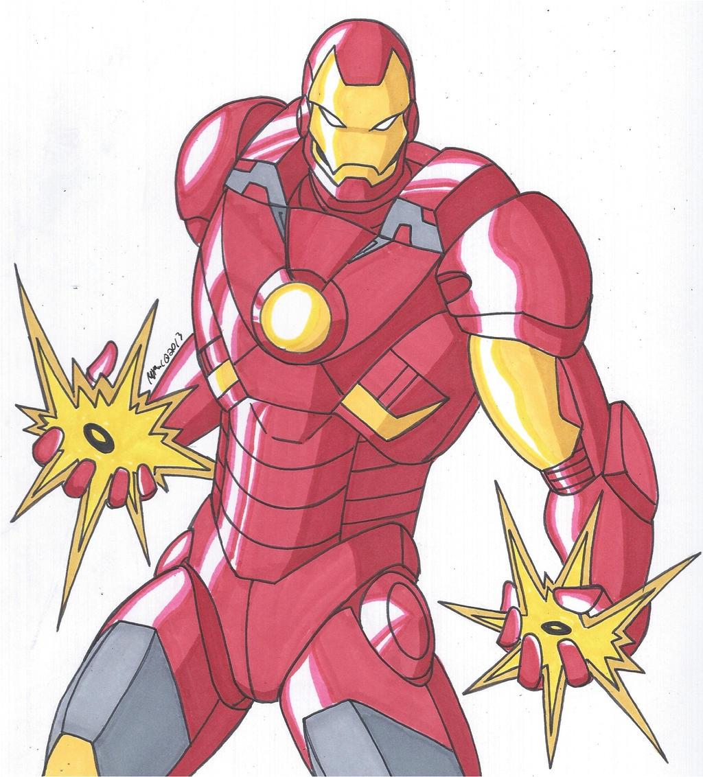 robertmacquarrie1 iron man mark 7 armor by robertmacquarrie1