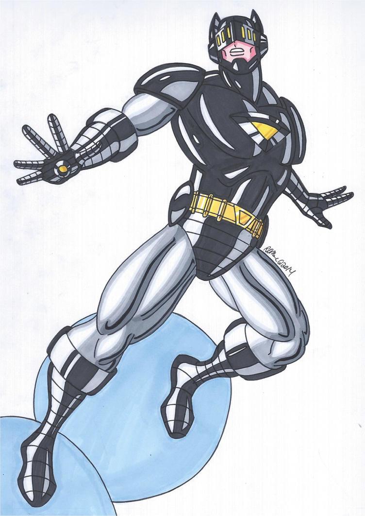 The Dark Knight by RobertMacQuarrie1
