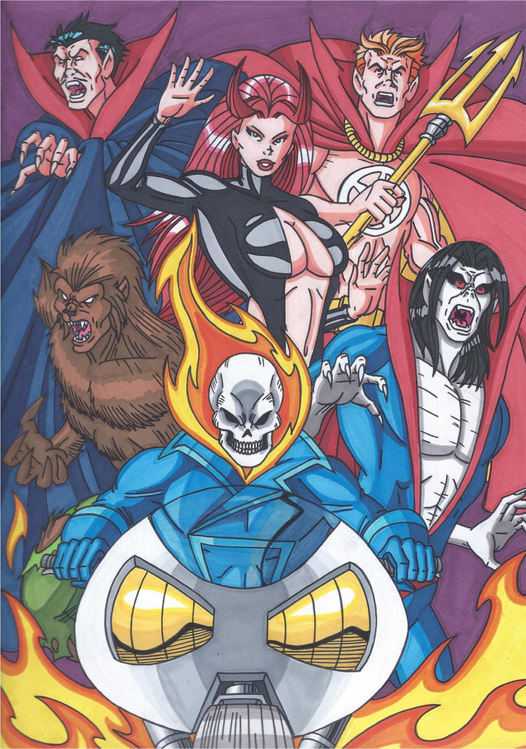 Marvel Horror by RobertMacQuarrie1