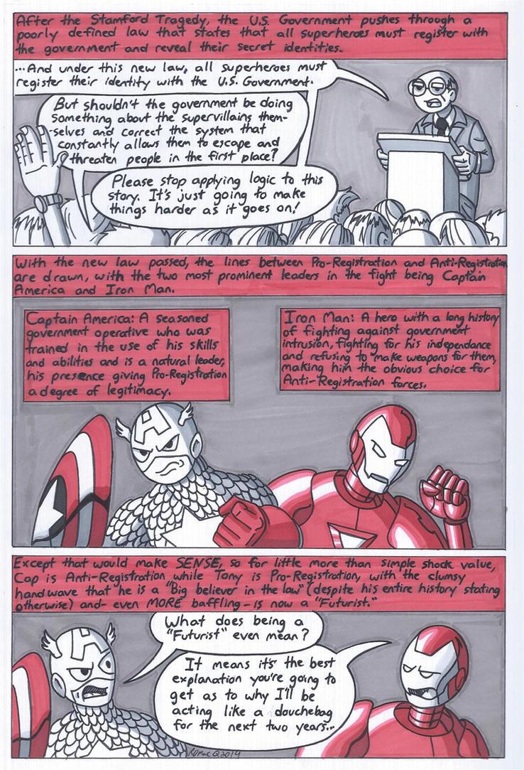Marvel Civil War Primer Part 2 by RobertMacQuarrie1