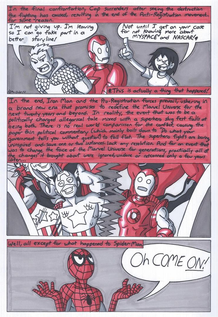Marvel Civil War Primer Part 5 by RobertMacQuarrie1