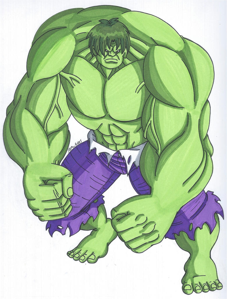 Hulked Out by RobertMacQuarrie1