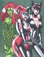 The Gotham Girls by RobertMacQuarrie1