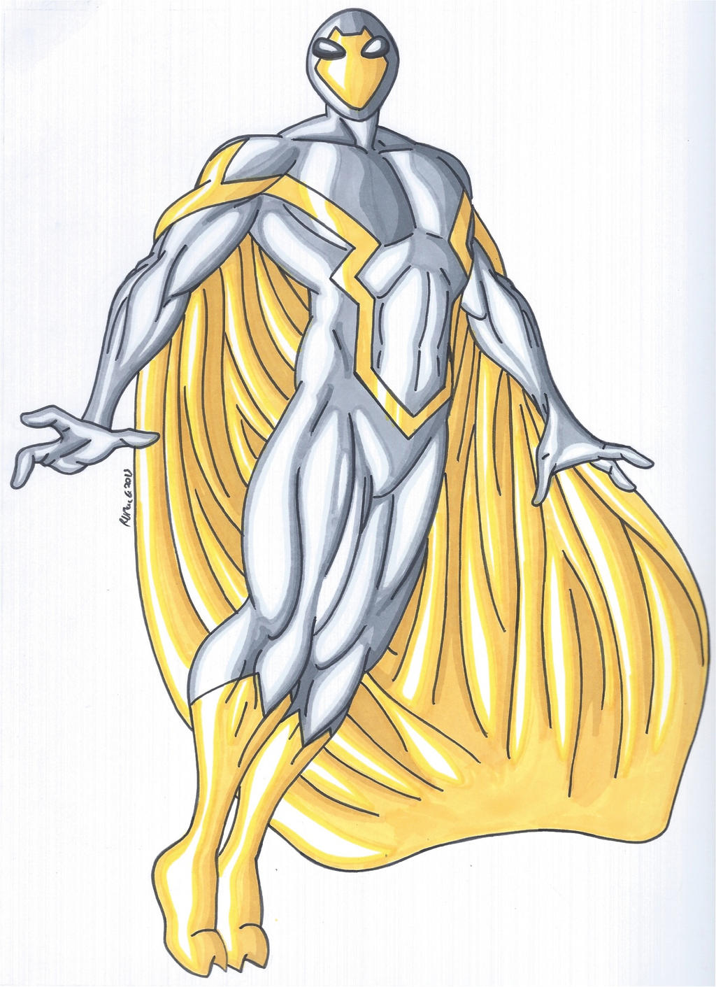 OCD- The Visitor, the Alien Superhero by RobertMacQuarrie1