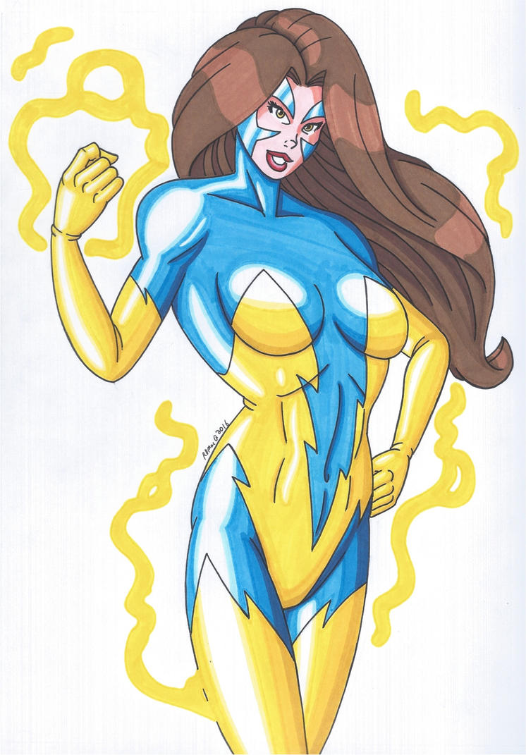 OCD- Thunder Woman by RobertMacQuarrie1