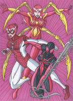 The Three Faces of Mary Jane Watson by RobertMacQuarrie1