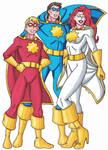 Captain Crusader and Family