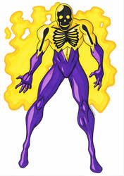 Electroshock, the Voltaic Man by RobertMacQuarrie1