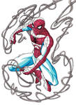 Spider-Man Red and Blue