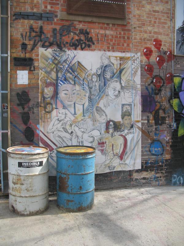 Art Alley backways