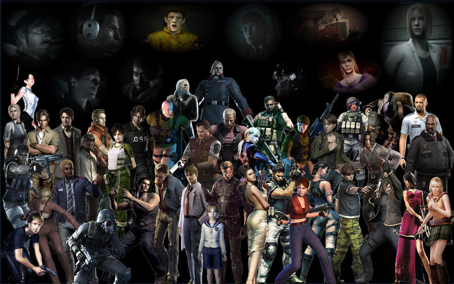 resident evil wallpapers. Resident Evil Wallpaper by