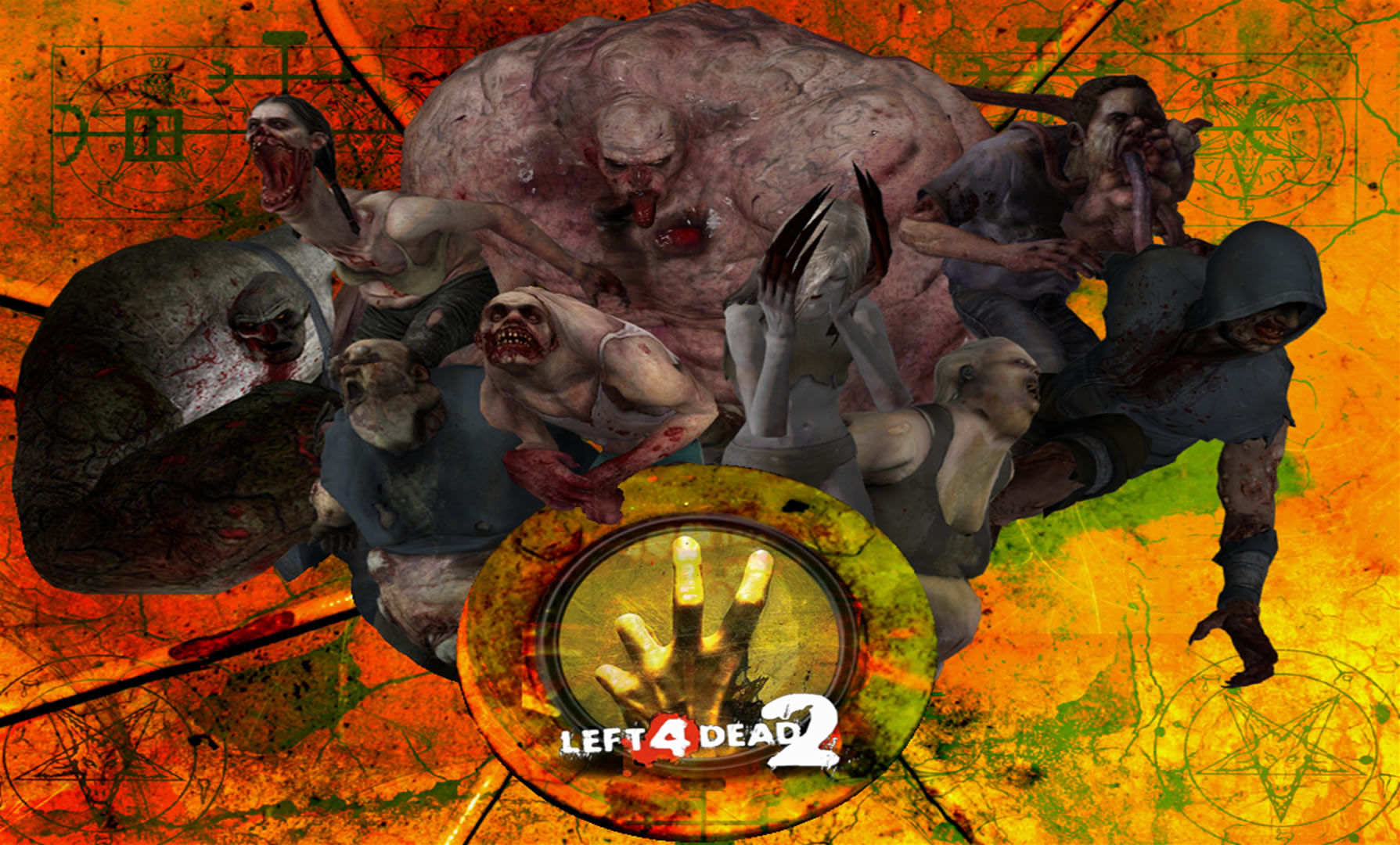 Left 4 Dead 2 Special Infected Wallpaper By Neon953 On Deviantart