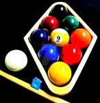 BILLIARDS POOL 9 NINE BALL