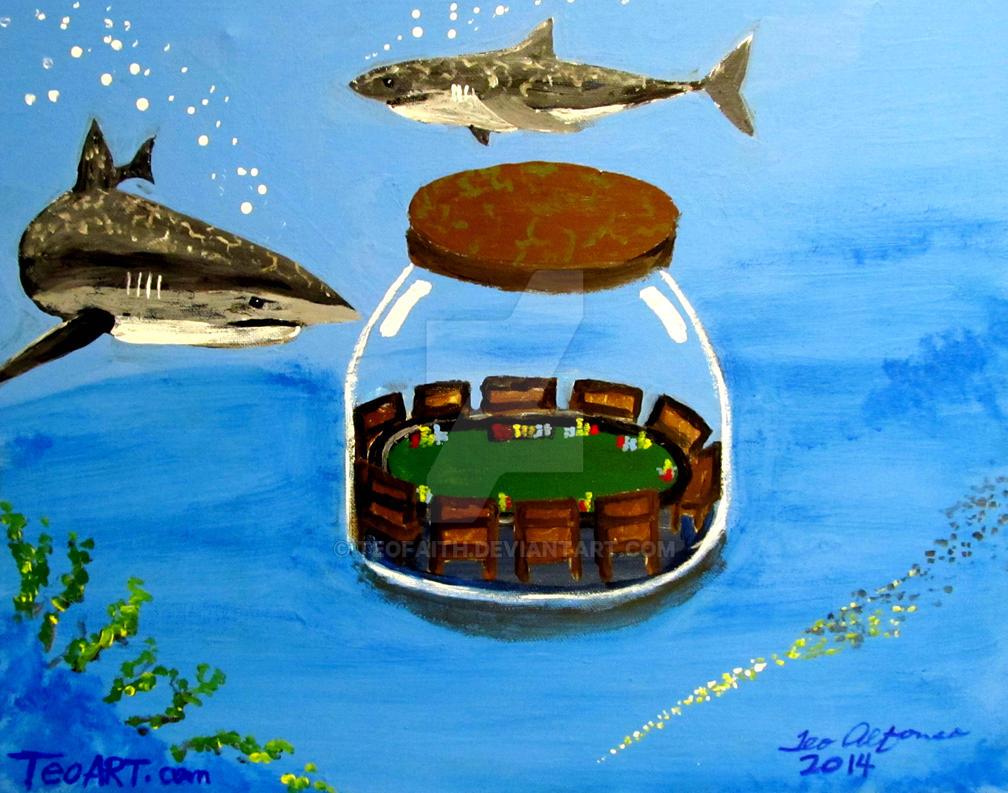 SHARK POKER by TEOFAITH