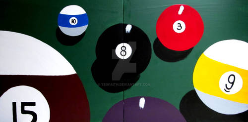 BILLIARDS POOL 8 EIGHT BALL
