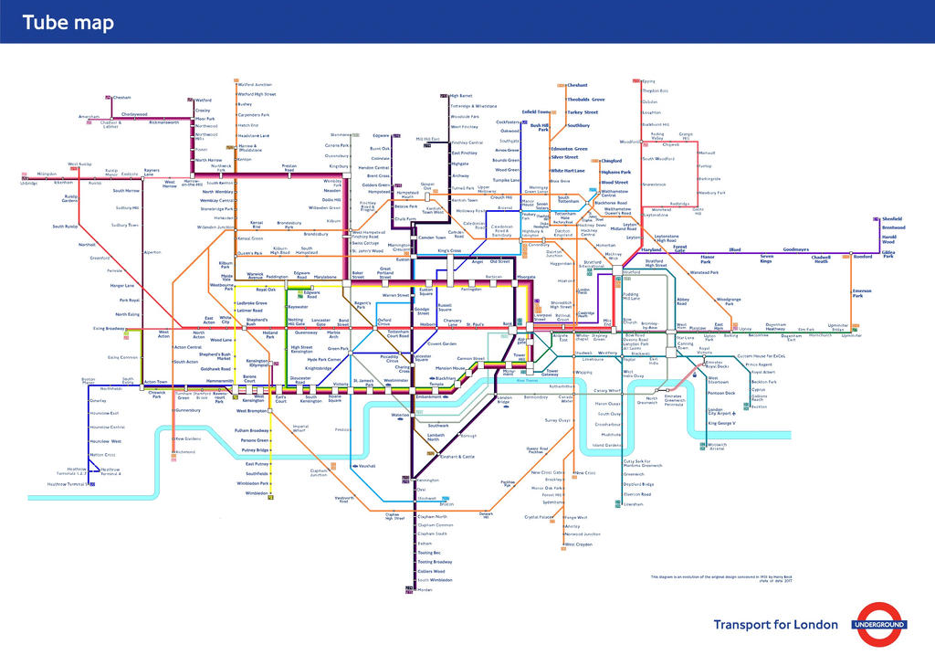 London-tube-map-numeric-update by Ewxep