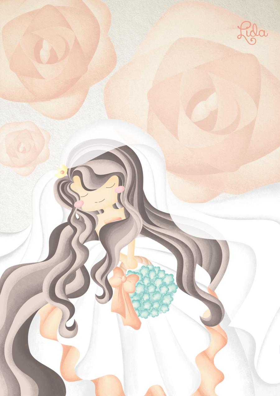 Wedding Dress by sweetterara