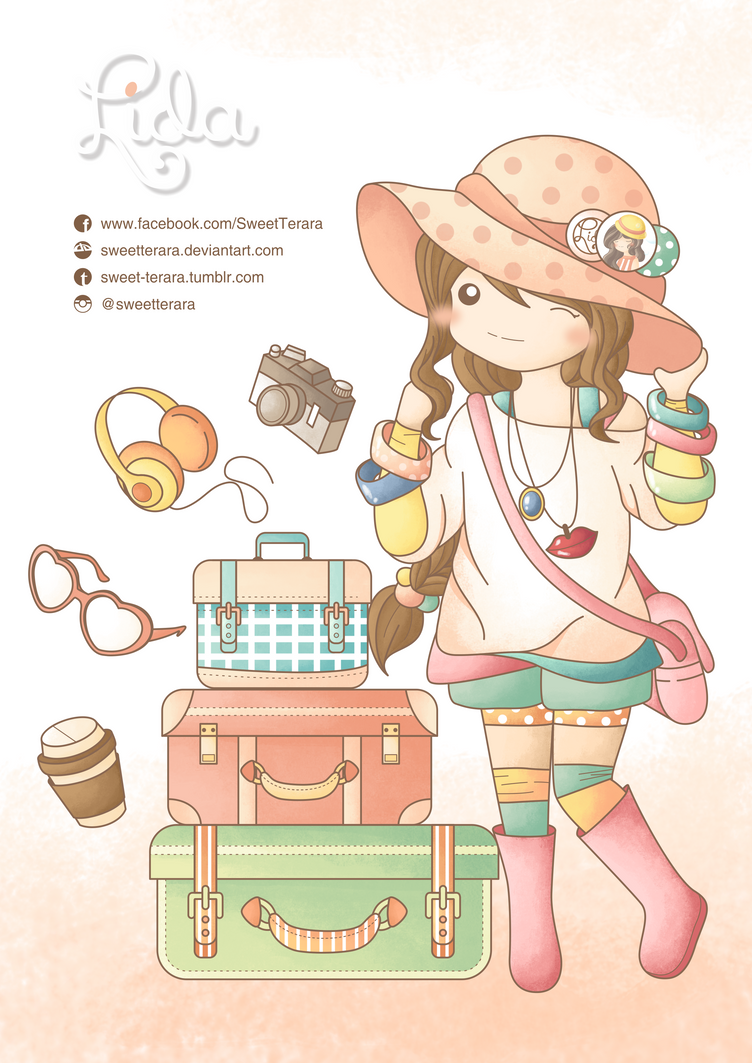 Its Travel Time By Sweetterara
