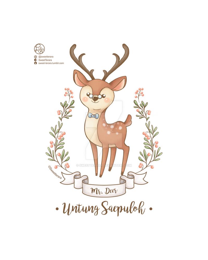 Mr deer by sweetterara